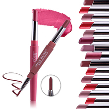 Multi-function lipstick pencil one lipstick pencil and one lip liner