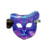 2019 new design sound activated led mask halloween mask