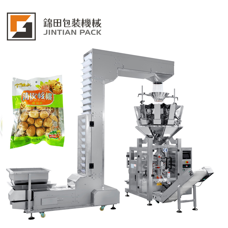 <strong>J</strong> T-400 W 10-800 g/ bag seed snack small scale packing machine