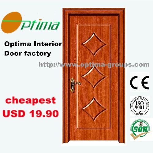 Cheap wholesale mdf wooden pvc door jlf 008 buy for Cheap pvc door