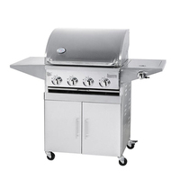 Restaurant Professional Gas Smokeless Vertical Outdoor bbq grill