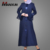 Islamic Apparel New Model Pakistani Flare Sleeve Kaftan Dress Modest Sequin Muslim Eid Abaya