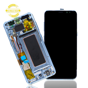 New Arrival for samsung galaxy S8 lcd with touch screen digitizer with frame assembly