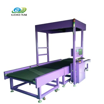 GOSUNM parcel dimensioning dimensional weight calculations Cubing dws weighing scanning tracking dimension checking machine