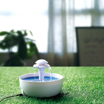 Super quiet pet water fountain , automatic electric pet drinking bowl pet water dispenser