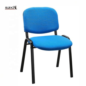 Conference Room Furniture Steel Leg Meeting Conference Chair Reception Office Chairs Stackable SD-9N