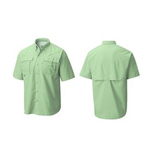 Custom High Quality Outdoor <strong>Sports</strong> Shirts Button Up Vented Fishing Shirts Wholesale