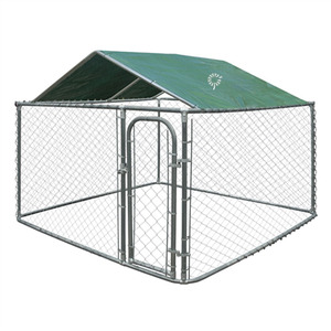 customized PVC oxford canvas outdoor indoor Waterproof Windproof sun shade breathable rabbit cage dog Crate pet Kennel top Cover