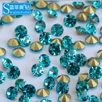 T0804 China supplier point back strass, point back strass for clothes, wholesale point back strass for garment