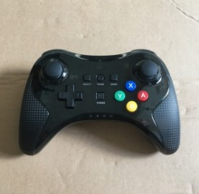 Brand new wireless Bluetooth Pro game controller for <strong>Wii</strong> U black with white box package