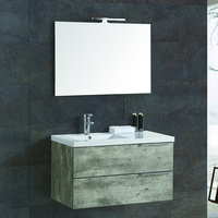 Low MOQ wall Mounted Cheap Hotel Bathroom Vanity Cabinet