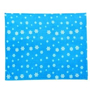 Super Soft Comfortable Custom 100% Polyester Coral Fleece Blanket