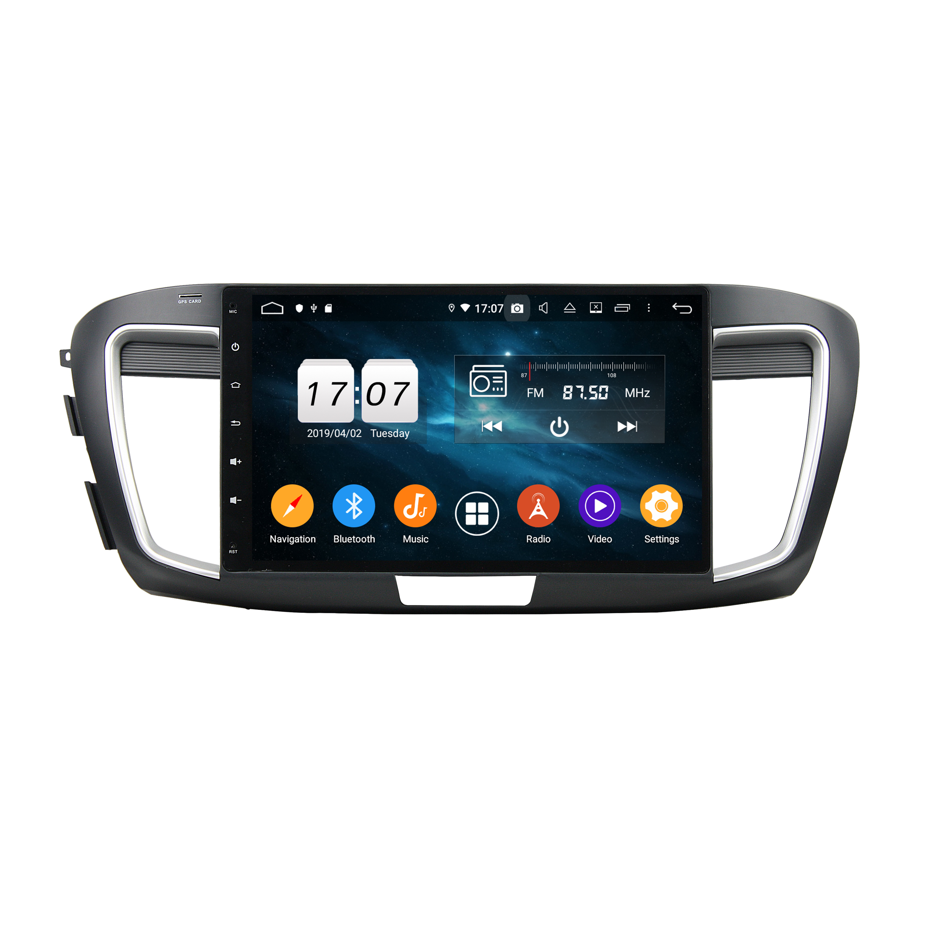 KD-1053 Hot sale model android 9.0 octa core car dvd screen for A <strong>c</strong> <strong>c</strong> o r d 9 2015-2017 gps navigation support DSP carplay DAB