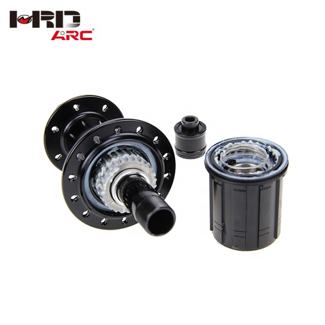 RT-010FA/002RA Factory wholesale 24h alloy <strong>J</strong> bend ratchet road bike hub
