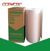 CCEWOOL pure ceramic cotton fiber paper for furnace