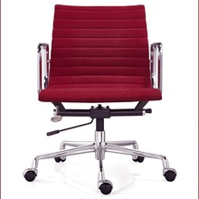 embossed ribbing modern fabric office chair ea117