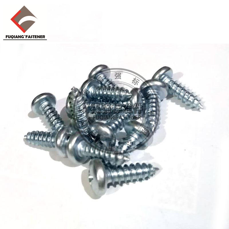 High Qualify carbon steel GB845 galvanized pan head self tapping <strong>screw</strong> 6.3*32