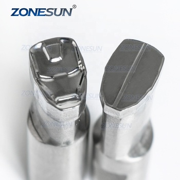 ZONESUN IM Logo Punching Die Mold Sugar Pill Punching Set Stamp Tablet Die For Pills Candy Press Equipment TDP 0/1.5/3