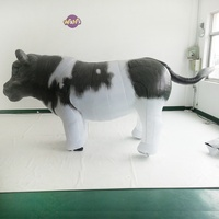 bull inflatable dancing inflatable cow inflatable milka cow suit Jersey cow walk costume for Spanish bullfighting parade events