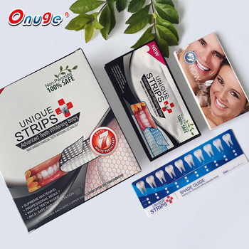 Teeth care Activated bamboo Charcoal Teeth Whitening dry Strips Bleaching White strips
