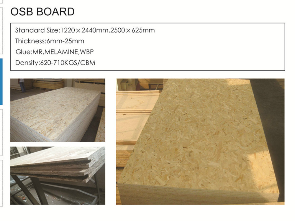 Professional osb plywood with low price buy osb plywood for Osb thickness for roof