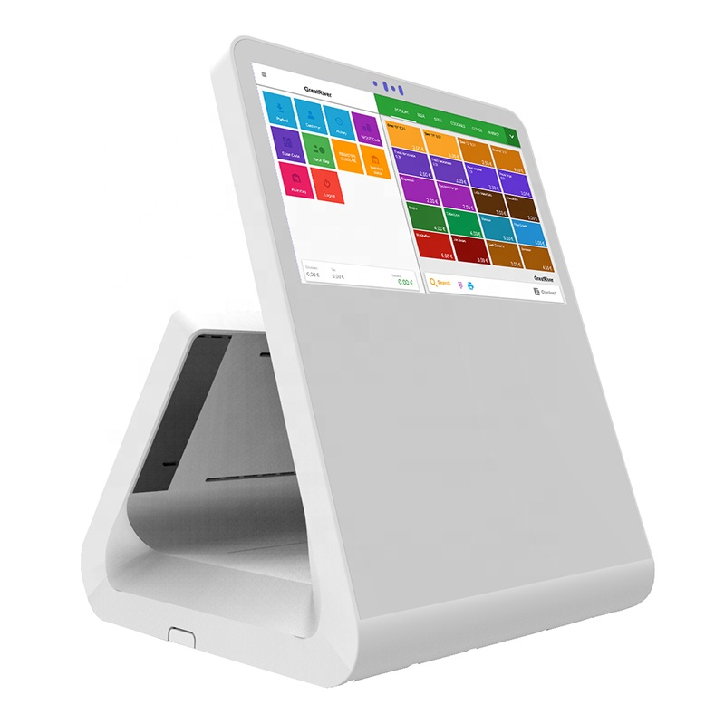 "Great River V2-04 <strong>11</strong>.6"" Cash Register All in one Monitor Android POS Terminal"