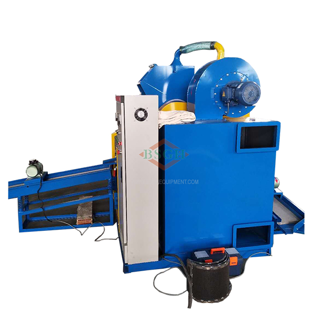 Directly sale copper wire crusher machine for sale scrap metal shredder cable granulator recycling machine <strong>100</strong> kg/<strong>h</strong> BS-D10