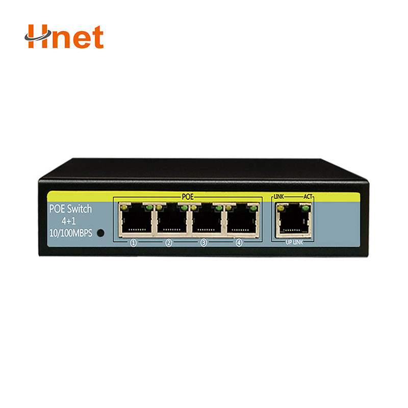 IEEE802.3 af at <strong>10</strong>/100mbps 1 sfp mini poe switch 4 ports