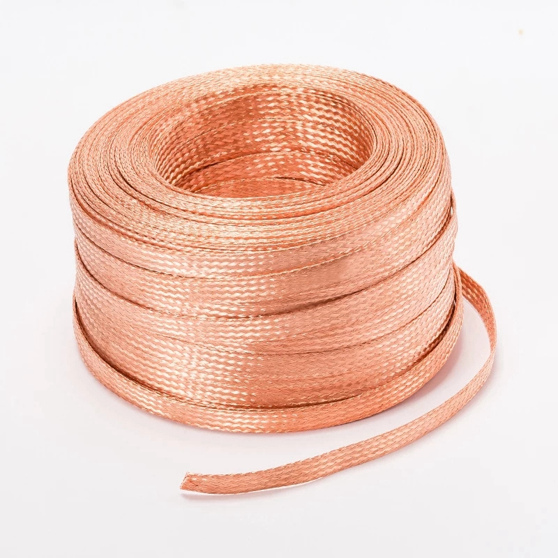 Flexible Electrical Stranded Braided Bare <strong>Copper</strong> Wire