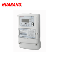 Three phase four wire DLMS multifunction wireless communication smart GPRS energy meter