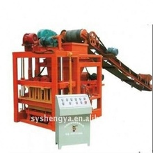 manufacture sale qtj4-26c automatic cement concrete hollow block making machine design pdf