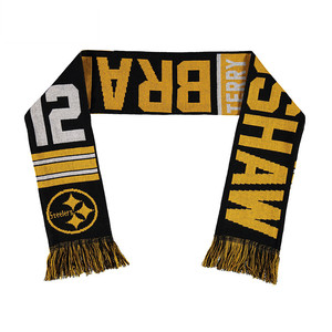 Club Supporter Fan Scarves ,Long Football Knit Scarf
