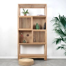 2019 new design Chinese Antique Solid <strong>shelf</strong> Furniture