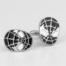 Super Hero Red Spiderman Cufflink French Cufflinks Father's Day Gift