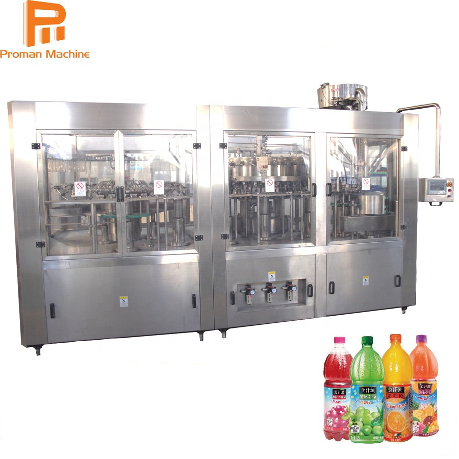 Automatic Juice Bottling Filling Machine for Juice Beverage Industry