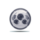 7 Inch 12v 24v Round Led Combi Reflector Headlights For Truck