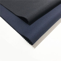 High quality organic woven woolen yarn dyed twill worsted wool fabric
