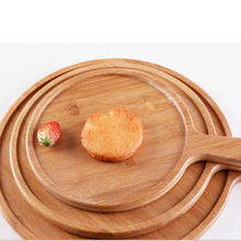 Hot Sale Fancy Bamboo Wood Dry Fruit Salad Pizza <strong>Plate</strong>