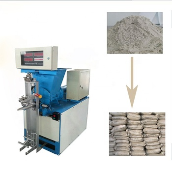 Spiral cement bag packer/Professional packer/Cement bag packing machine