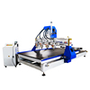 1325 Multi Spindles Multifunction Automatic 3D Wood Design Carving Machine Cnc Router 5D with 4 Rotary Devices