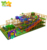 Rainbow Double triple big high speed slide kids indoor playground equipment slide