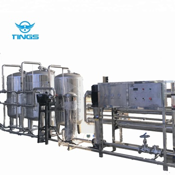 Fresh drinking mineral water treatment containerized processing machine/equipment/system/plant