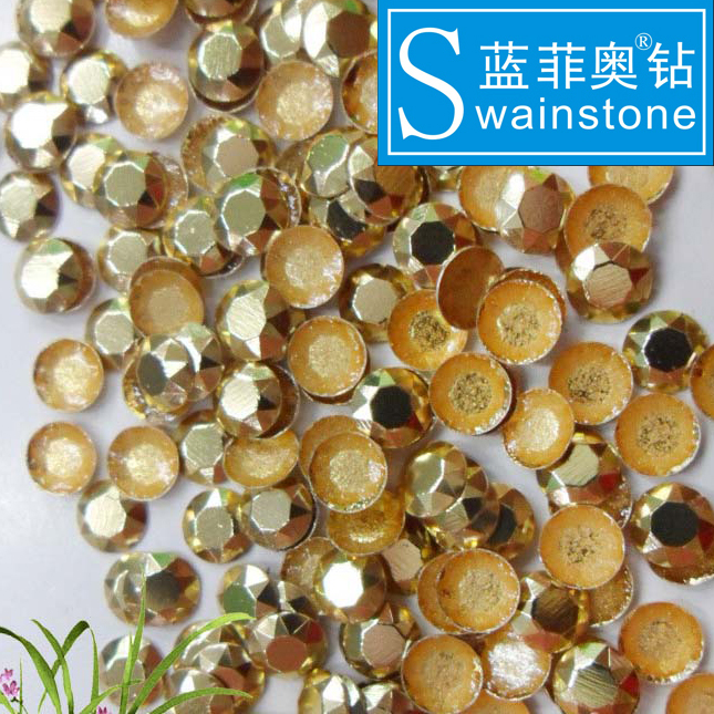S0818  hot fit rhinestuds factory price free hotfix strass iron-on studs fashion designs for dress
