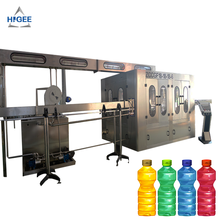 Automatic beverage filling machine with juice sparkling water liquid bottling <strong>equipment</strong> wrap packing machine