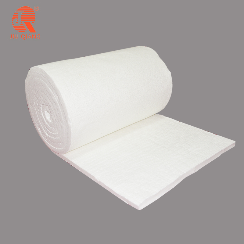 fireproof thermal insulation high temperature energy-saving insulation <strong>128</strong> kg m3 blanket refractory ceramic fiber