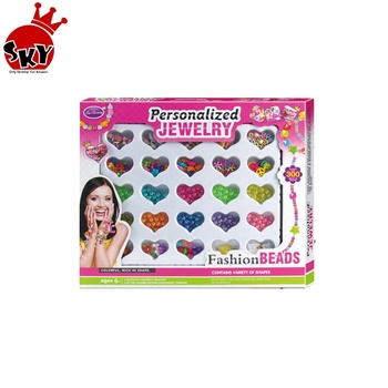 Wholesale kids educational magic beads plastic bracelet diy toy for girls amazon hot w/ cpc
