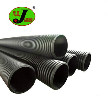 DN200 to DN800 large diameter plastic pipe on sale HDPE culvert drainage pipe driveway culvert pipe for sale