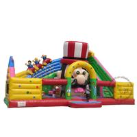 Hot Sale good quality Inflatable Fun City ,big inflatable playground for kids inflatable slide with jumping castle