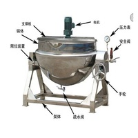 cooking mixer machine used in restaurant for soup