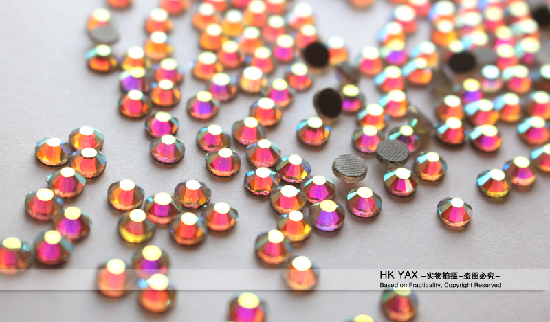 0905N  High quality 12-14 facet dmc hot fix stones;dmc flat back hotfix stone;SS6 cheap price hotfix flat back DMC rhinestone